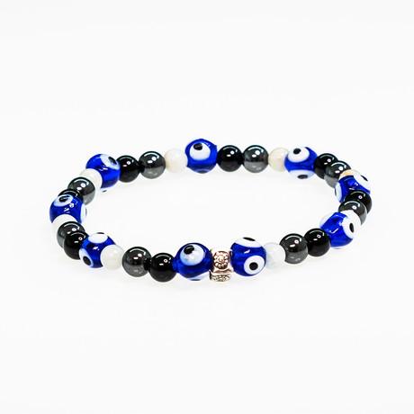 Dell Arte // Evil Eye Protection Bracelet // Multicolor