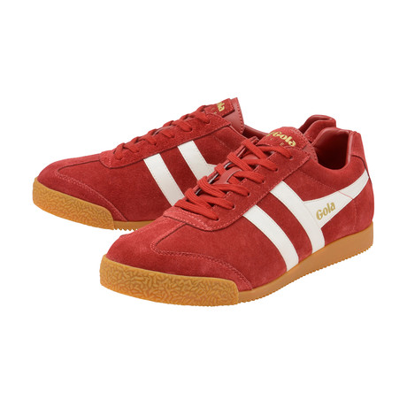 Harrier Suede // Deep Red + White (US: 7)