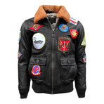 Top Gun® Official Signature Series Jacket V.2.0 // Brown (S)