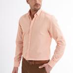 Ric Linen Button-Up Shirt // Salmon (2XL)