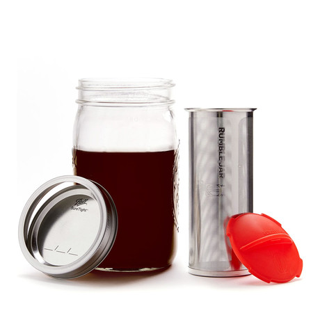 Rumble Jar // Traditional Mason Jar (Black)