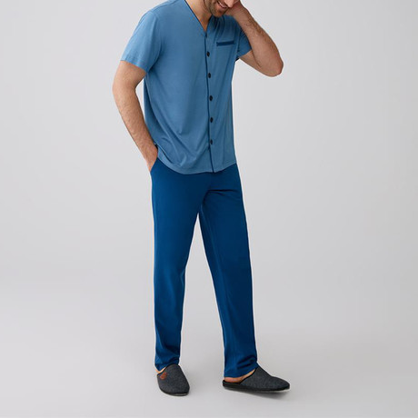 Andy Pajamas // Blue (XS)