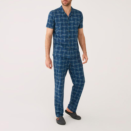 Denali Pajamas // Navy Blue (XS)