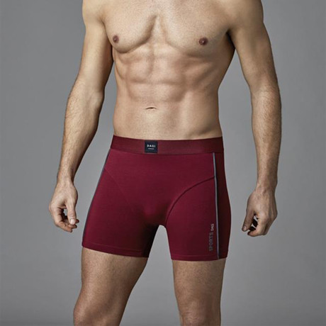 Cozy Boxer // Claret Red (XS)