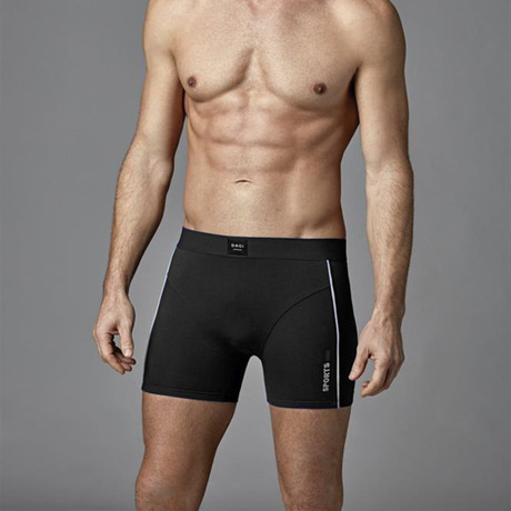 Cozy Boxer // Black (XS)