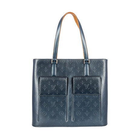 Louis Vuitton // Monogram Mat Wilwood Tote Bag // Black // Pre-Owned