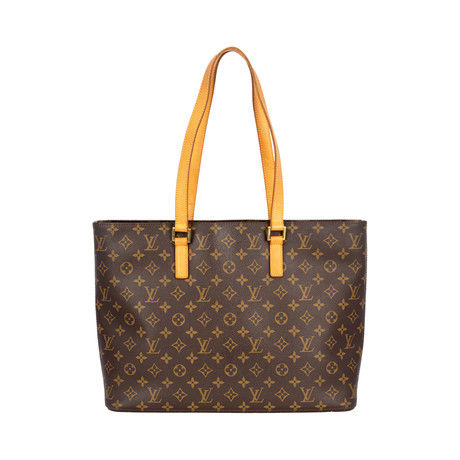 Louis Vuitton // Monogram Canvas Luco Tote Bag // Brown // Pre-Owned