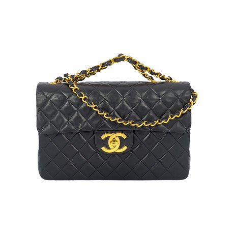 Chanel // Vintage Jumbo Flap Bag // Black // Pre-Owned