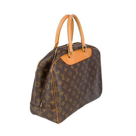 Louis Vuitton // Monogram Canvas Deauville Tote Bag // Brown // Pre-Owned