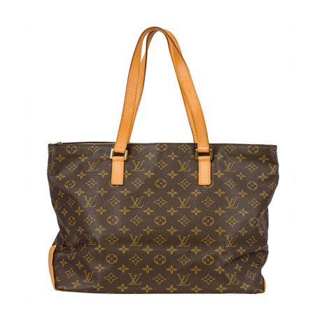 Louis Vuitton // Cabas Mezzo Monogram Canvas Shoulder Bag // Brown // Pre-Owned