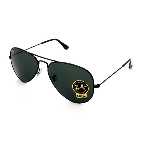 Unisex RB3025-L2823 Aviator Sunglasses // Black