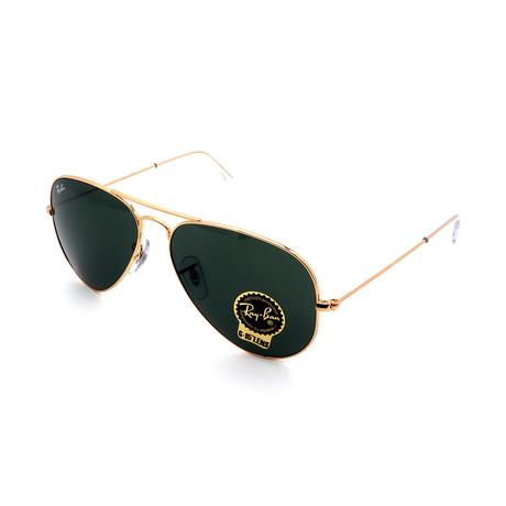 Unisex RB3025-L0205 Aviator Sunglasses I // Gold