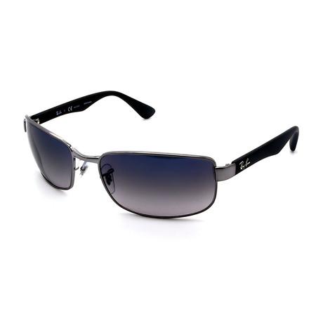Unisex RB3478-004-78 Rectangular Polarized Sunglasses // Black