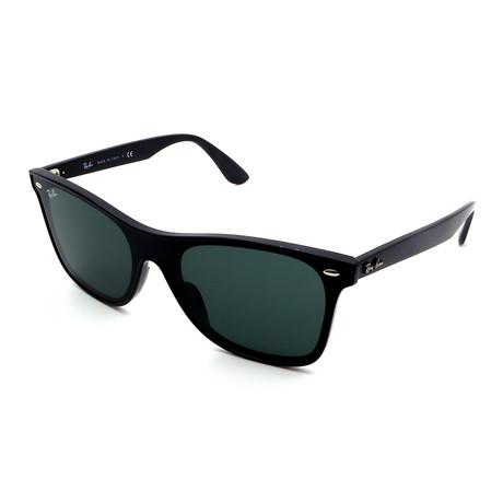 Unisex RB4440N-601-71 Blaze Wayfarer Sunglasses // Black