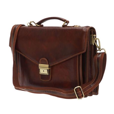 Spartaco Bag // Brown