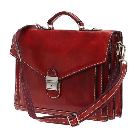 Spartaco Bag // Red