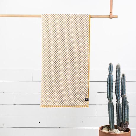 Clive Bath Towel (Mustard)