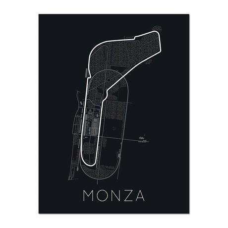 "Full- Throttle Formula 1 // Monza Poster (12""L x 16""W x 0.5""H)"