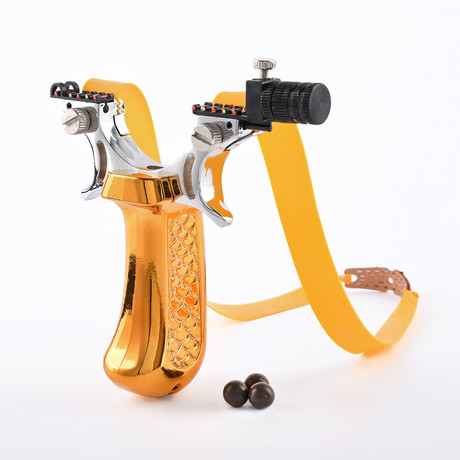 Tactical Slingshot Q33 // Gold