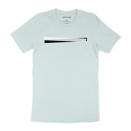 Masked Graphic T-Shirt // Light Green (S)