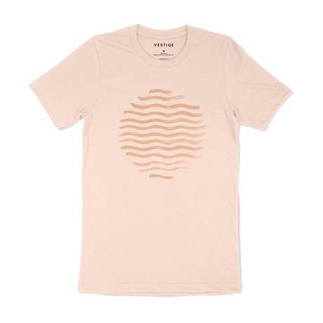 Beach Vibe Redux Graphic T-Shirt // Clay (S)
