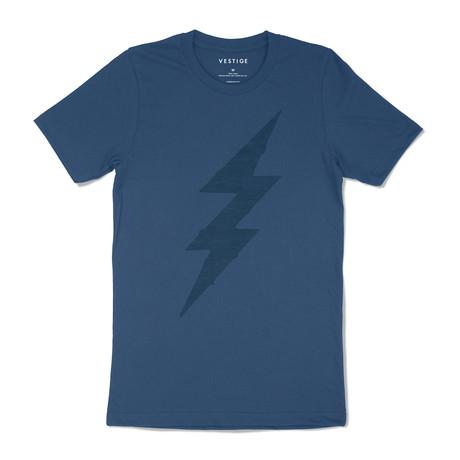Bolt Graphic T-Shirt // Blue (S)