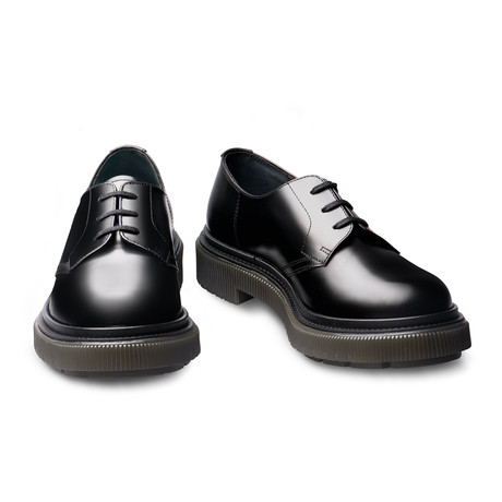 Lex Lace-Up Derby // Black (Euro: 39)