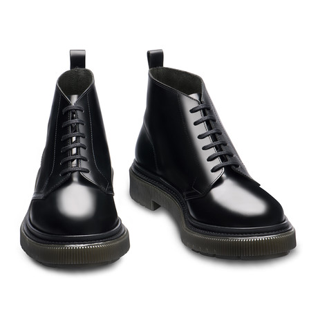 Barclay Lace-Up Low Boots // Black (Euro: 39)