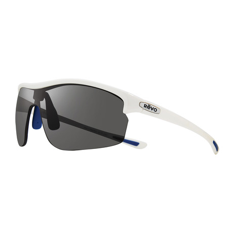Edge Polarized Sunglasses (Black Frame + Blue Water Lens)
