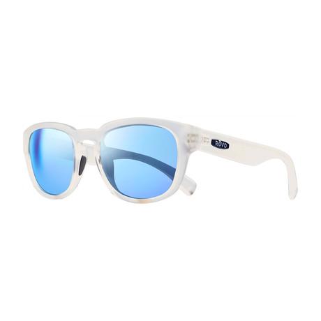 Zinger Polarized Sunglasses (Matte Tortoise + Green)