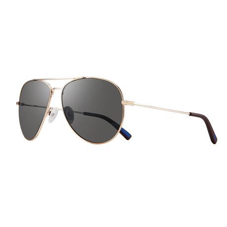 Spark Polarized Sunglasses (Chrome + Graphite)