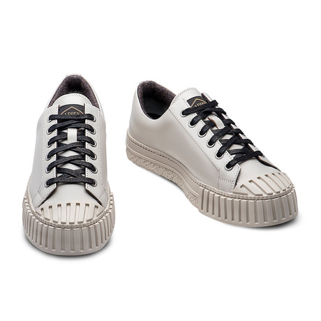 Rolando Leather Sneakers // Beige (Euro: 39)