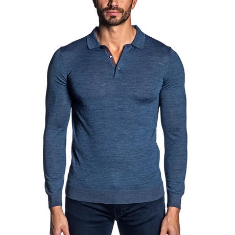 Peter Light Weight Pullover // Blue (S)
