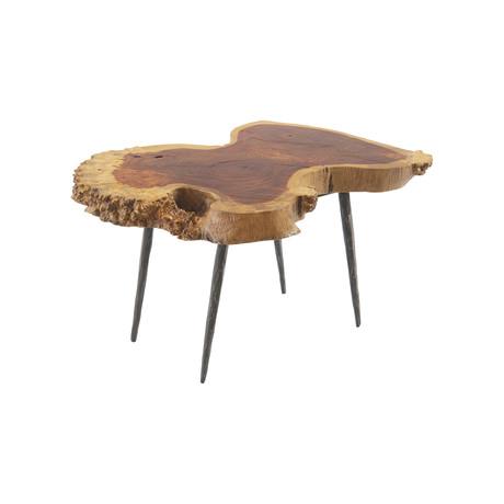Pradoo Burled Wood Coffee Table v.2