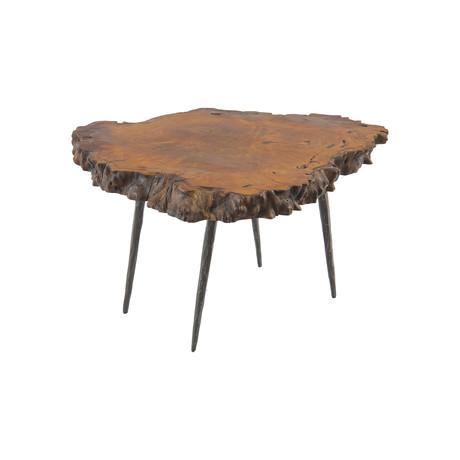 Mai Theng Burled Wood Coffee Table v.2