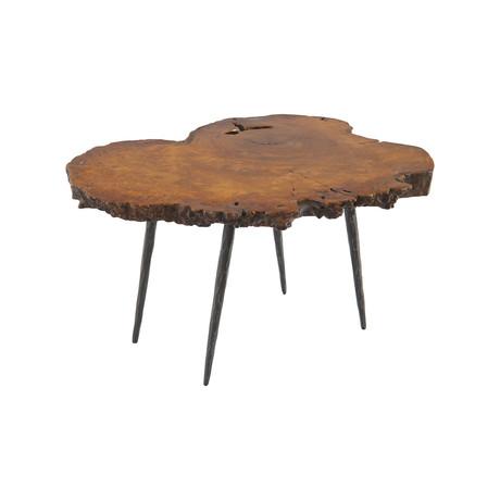 Mai Theng Burled Wood Coffee Table v.1