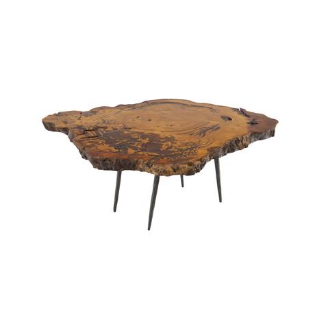Burled Wood Coffee Table v.5