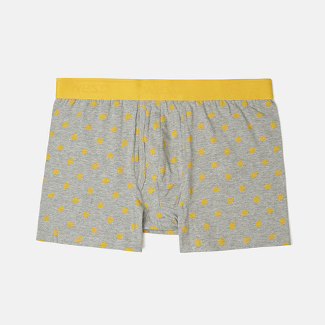 Dots Boxer Brief Singles // Ultra Yellow (S)
