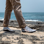 Sockwa // G4 Minimal Barefoot Shoe // Camel + Black (US: M4)