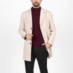 Jake Wool Coat // Beige (Euro: 46)