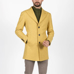 Jake Wool Coat // Yellow (Euro: 46)