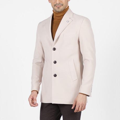 Owen Wool Coat // Beige (Euro: 46)