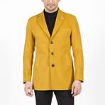 Owen Wool Coat // Yellow (Euro: 46)