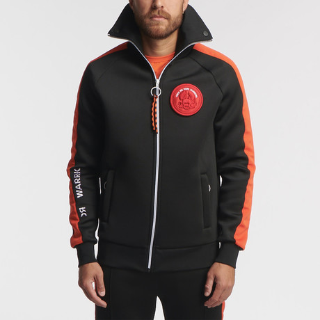 Azali Track Jacket // Black (S)