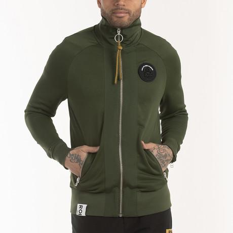 Meiyo Track Jacket // Rifle Green (S)