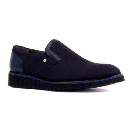 Marvin Classic Shoe // Navy Blue (Euro: 39)