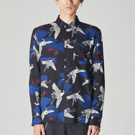Kyoto Bird Shirt // Multicolor (S)