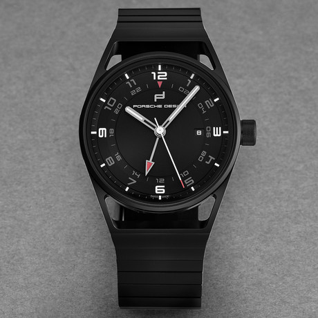 Porsche Design 1919 Globetimer Automatic // 6020.2.02.001.02.2 // New