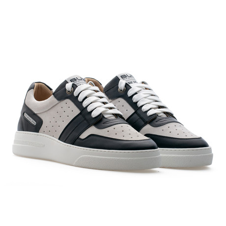 Skywalker Low Top Sneaker // Coal + Ash (Euro: 39)