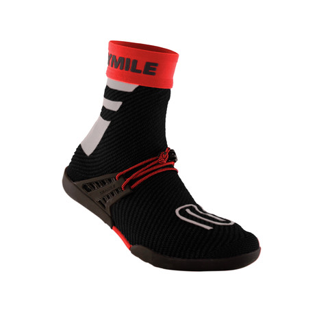 100% Waterproof Packable Sock Shoes // Midnight Red (US: 5)